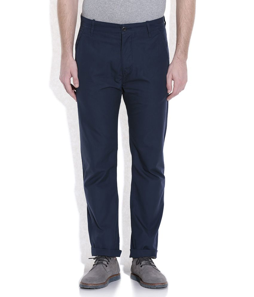 Levis Blue Casuals Chinos
