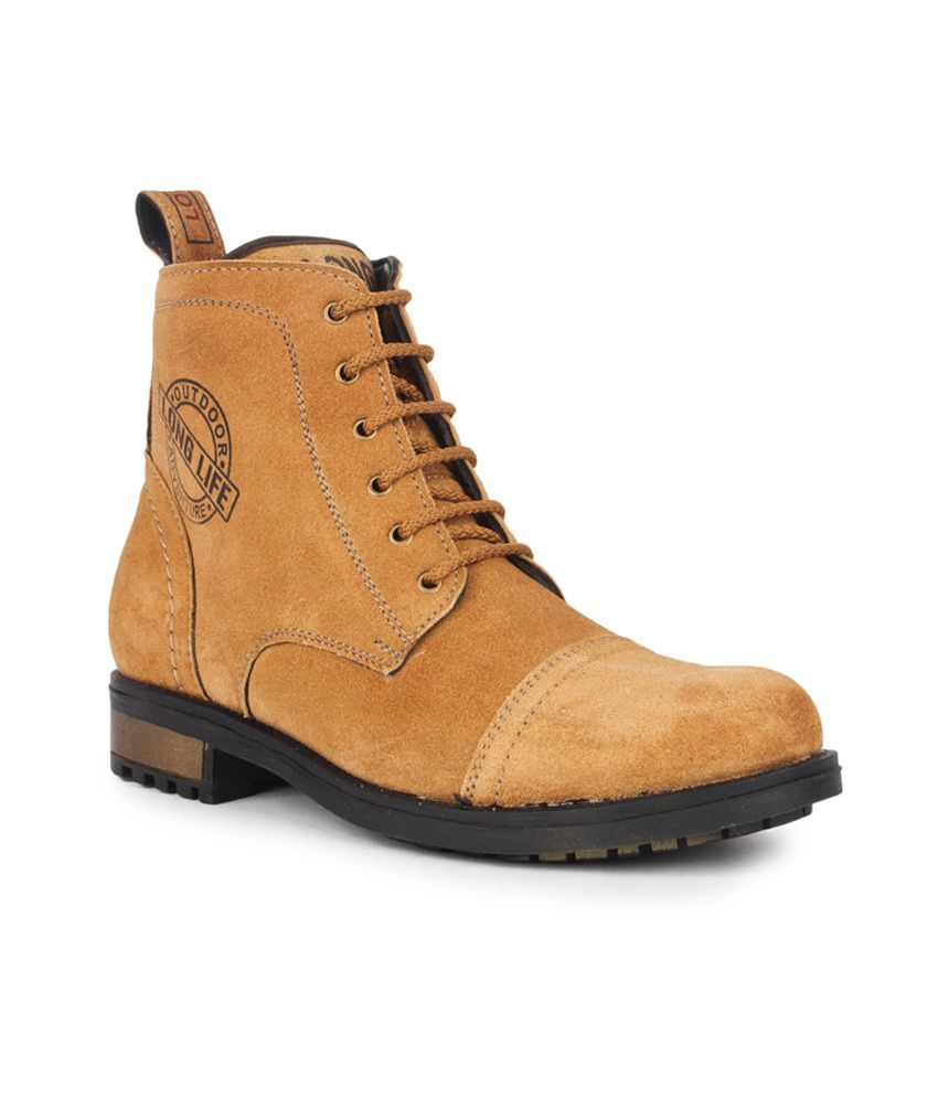 Aris Mart Brown Leather Boots