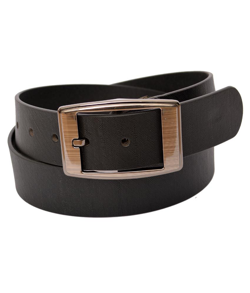 Montcherry Brown Leather Casual Belt