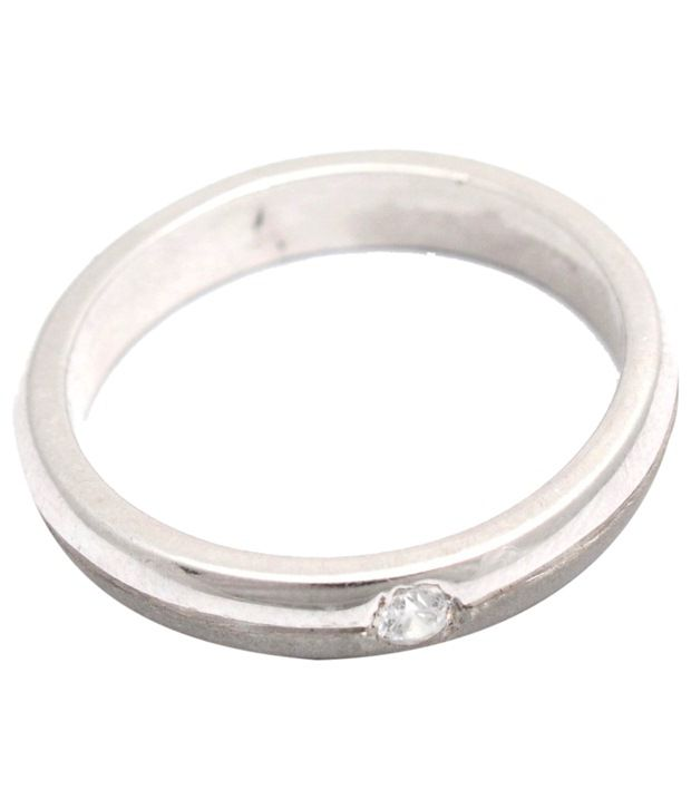 Cara Design House Awesome 92.5 Sterling Silver CZ Ring with Free Swarovski Stud Earrings for Women