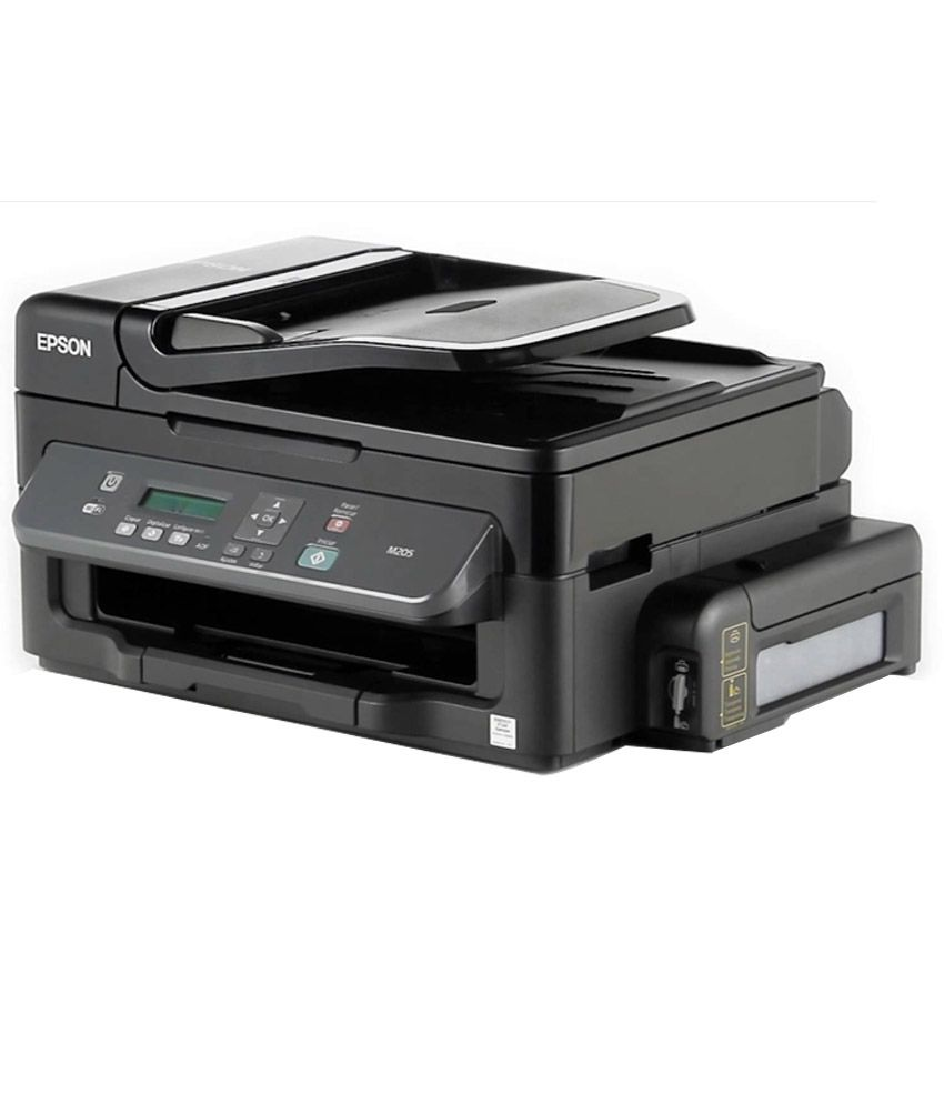 Epson M205 All In One (Print, Scan, Copy, Wifi) Wireless Black and White  ink tank printer