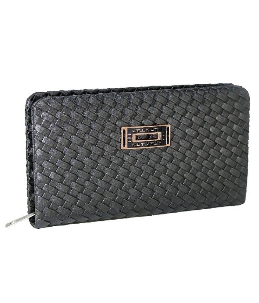 Klazo Black Regular Wallet