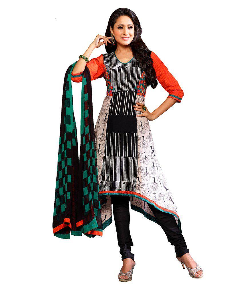 Payal Multi Color Cotton Stitched Suit