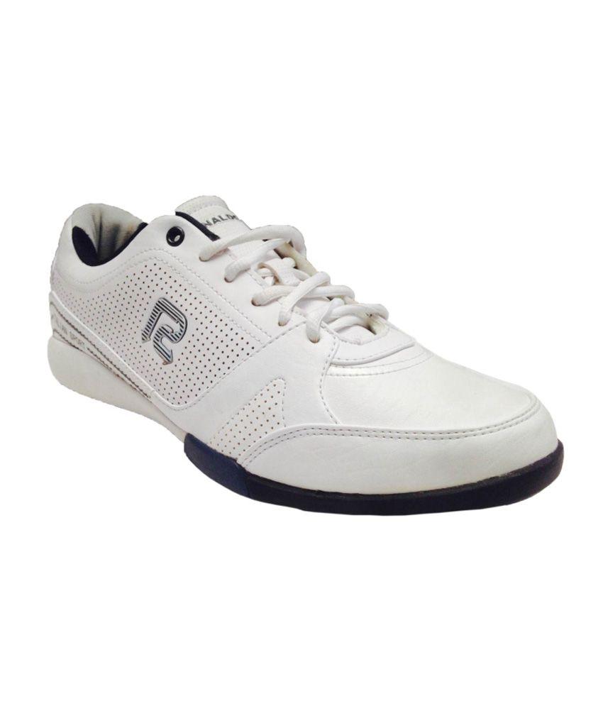 Ronaldo White Sports Shoes