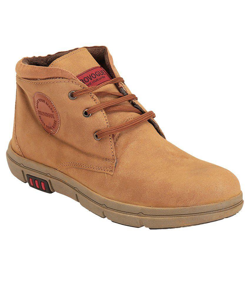Provogue Tan Boots
