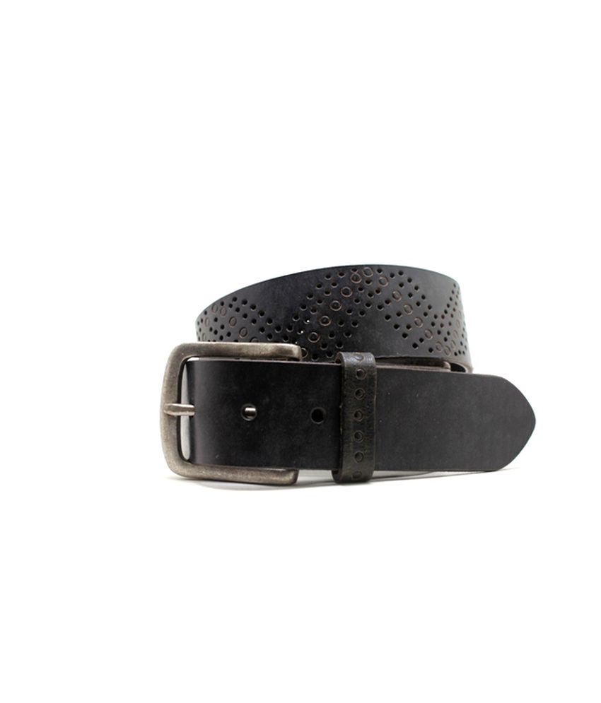 Lapalma Black Casual Single Belt For Men
