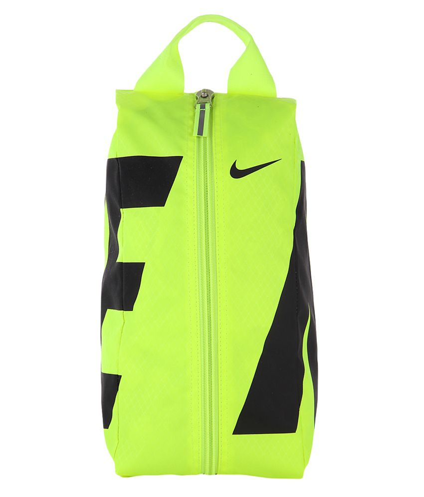 2c1c5ebd5857 Buy Nike Team Training Lemon Shoe Bag at Best Prices in India - Snapdeal