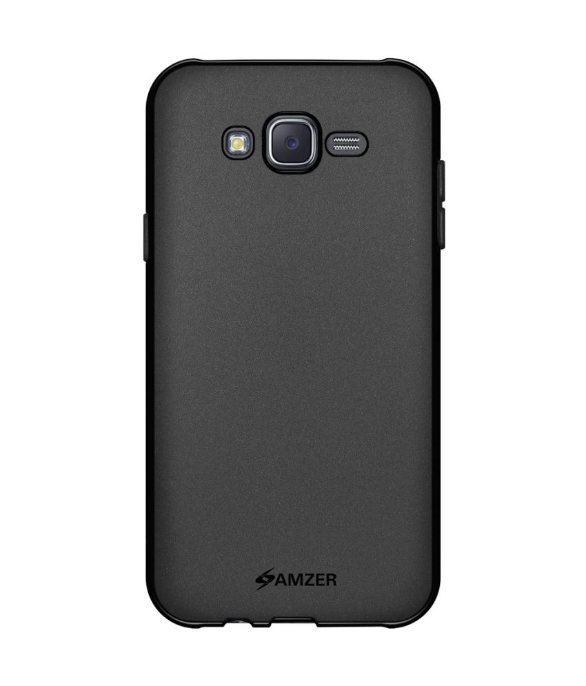 buy popular 31b4b 05676 Amzer Back Cover For Samsung Galaxy J5 SM-J500F - Black