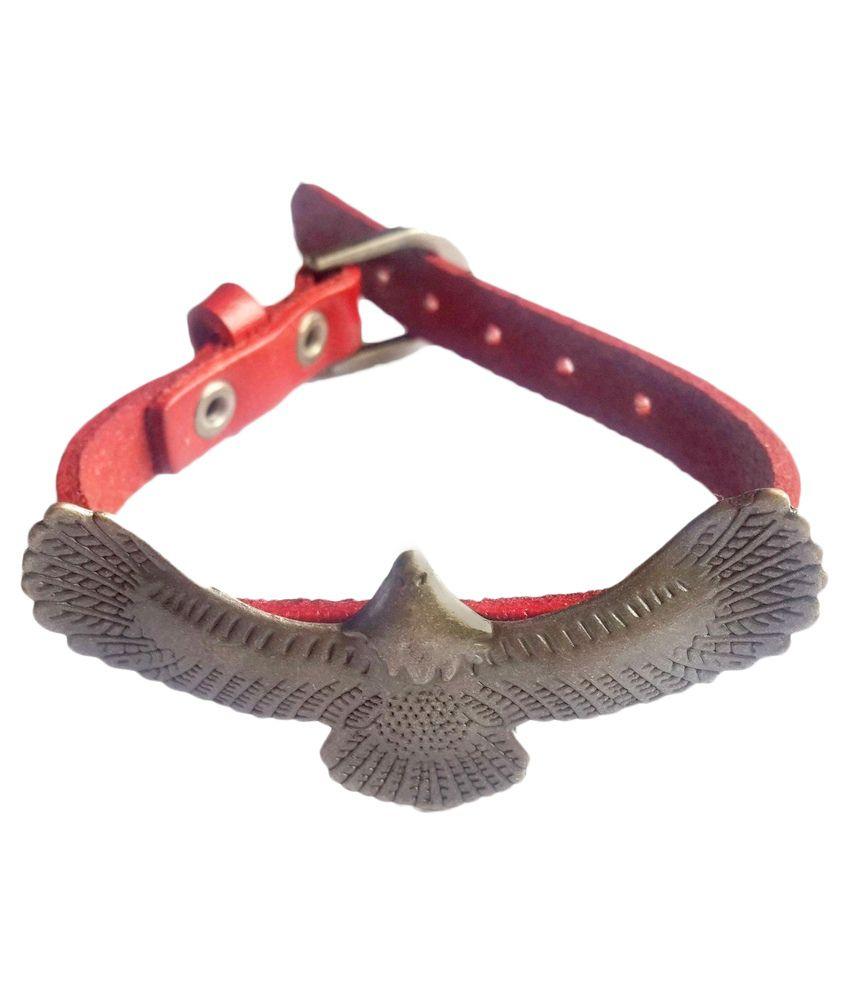 Creative Delights Brown Leather Bracelet