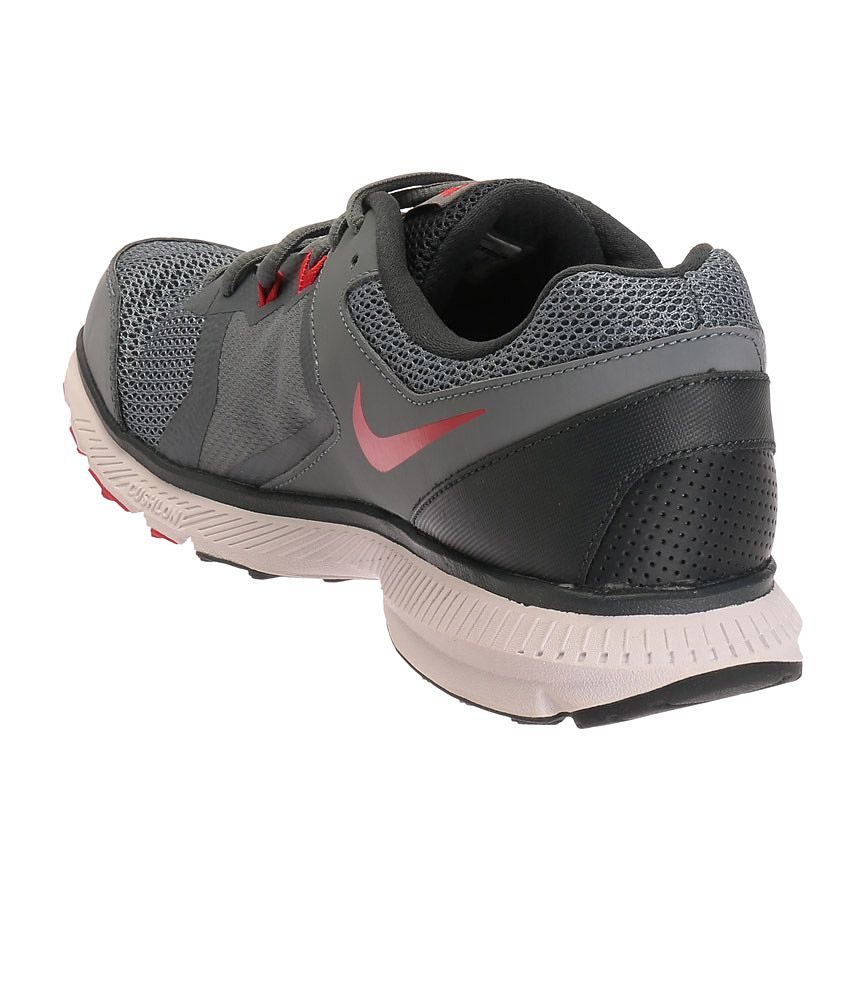 7b6df33bdc0a06 Nike Zoom Winflo Grey and Red Sports Shoes - Buy Nike Zoom Winflo ...