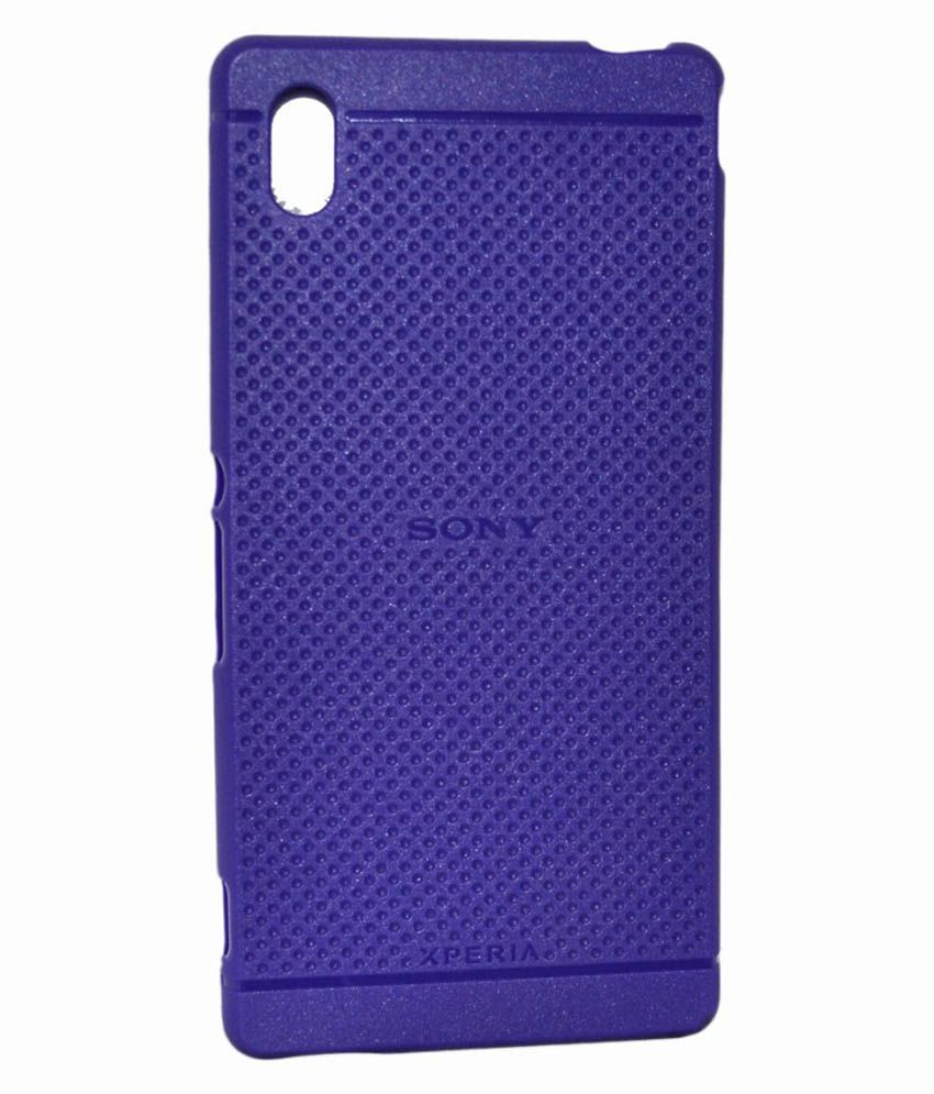 pretty nice 779c6 7711d Cell First Back Cover for Sony Xperia M4 E2363 - Purple