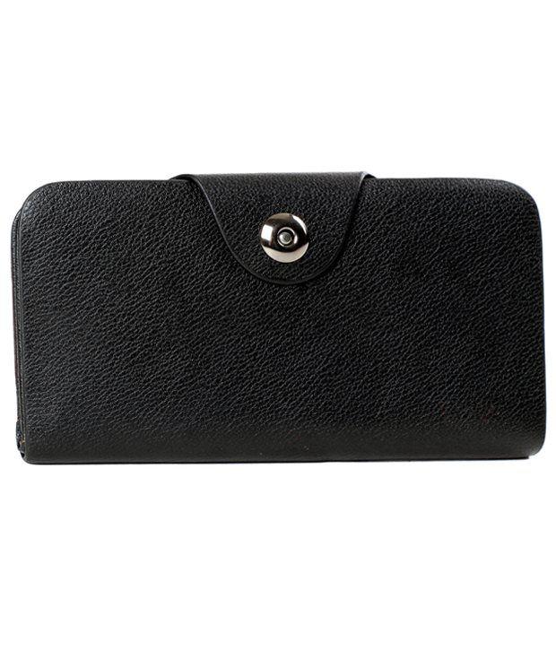 Classique Non Leather Black Women Wallet