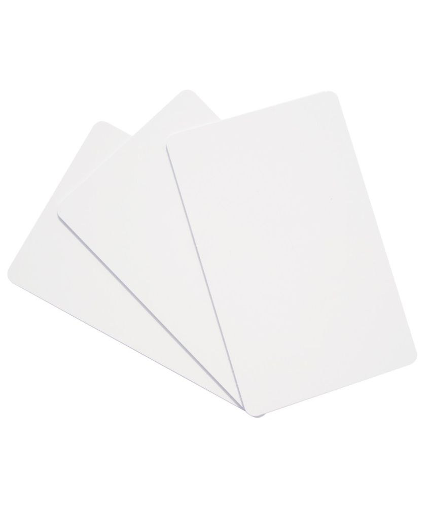 ID Tech Solutions Pvt. Ltd. PVC Ultra High Frequency cards (Pack Of 200)-White