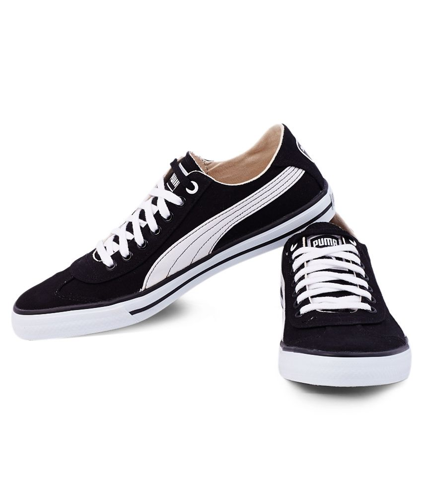 Puma Black Sneaker Shoes - Buy Puma Black Sneaker Shoes ...