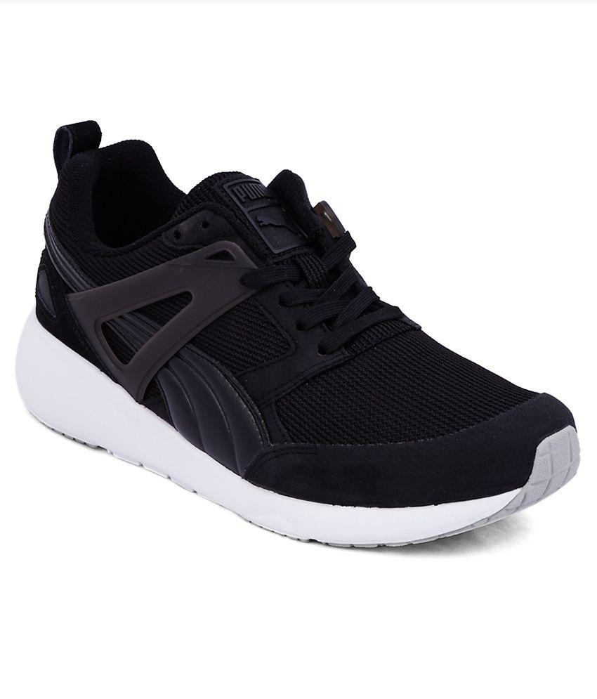 Puma Aril Black Sports Shoes - Buy Puma Aril Black Sports ...