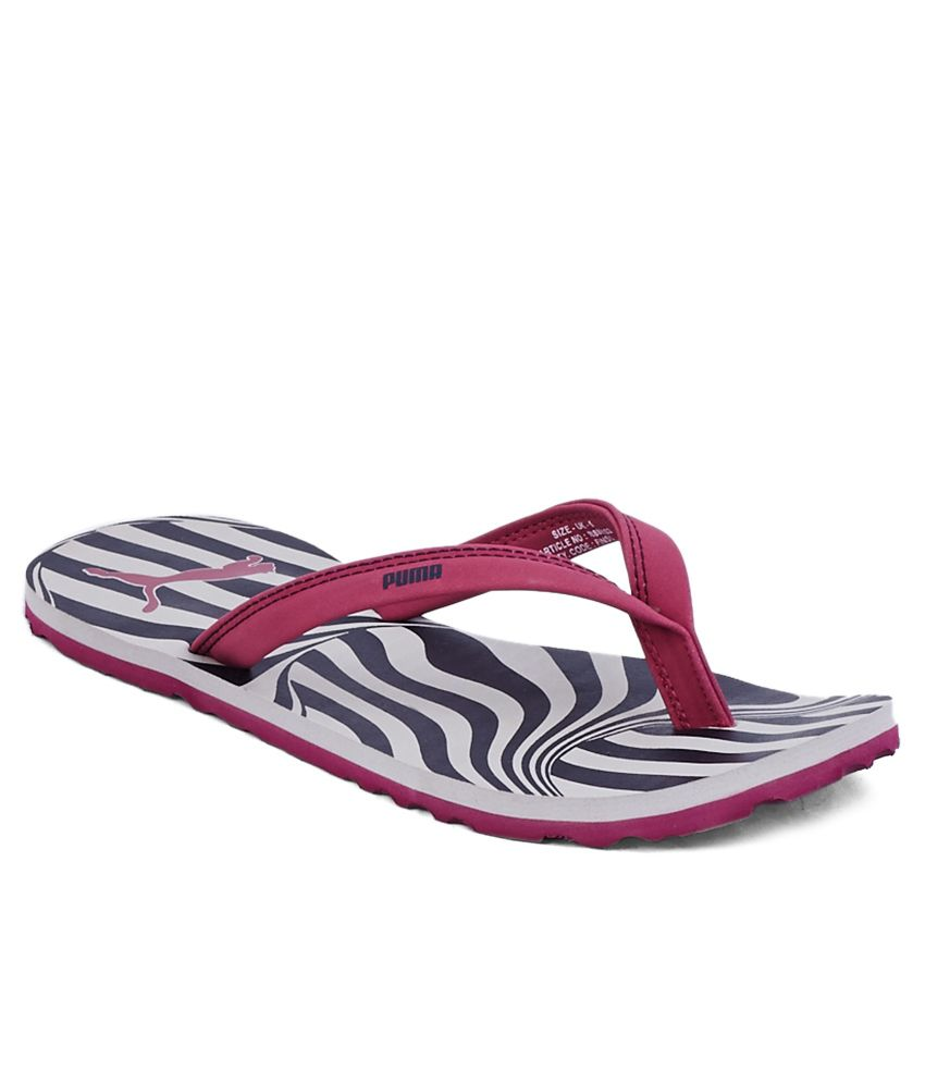 Puma Charon Pink Slippers