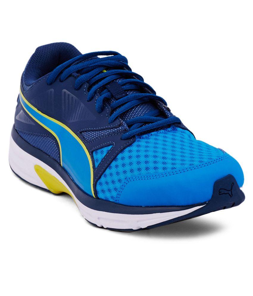 devotion blue sport shoes