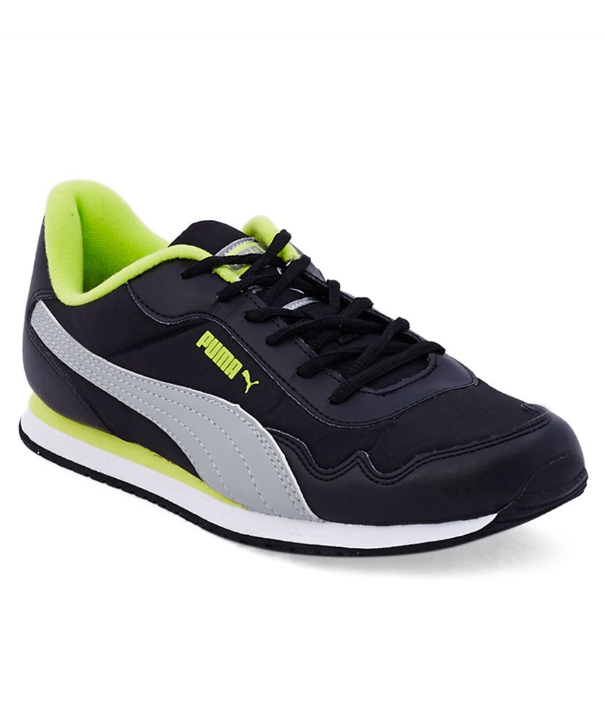 Puma Street Rider Black Casual Shoes - Buy Puma Street Rider Black Casual Shoes Online At Best ...
