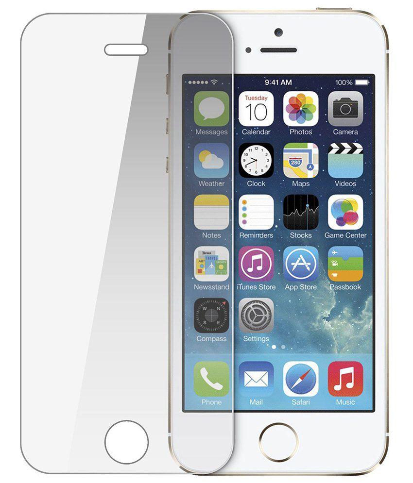 Apple iphone 5/5S Clear Screen Guard by PraIQ