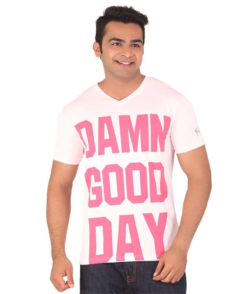 Radbone Pink Cotton Blend T-Shirt