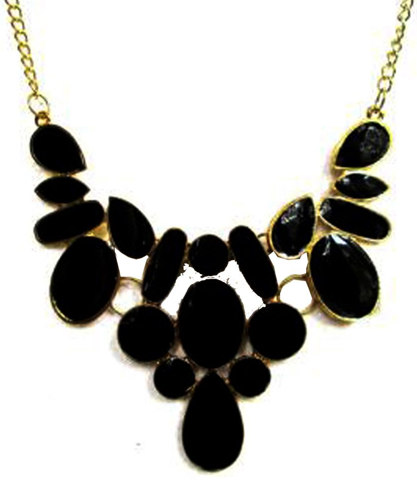brazilian necklace charm necklaces os size multi black product