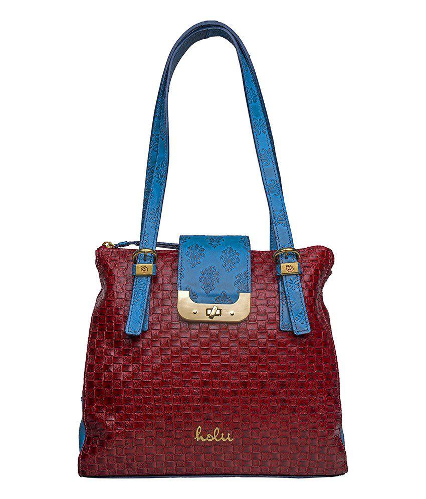 Holii CALYPSO Red and Blue Shoulder Bag