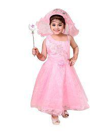 Ahhaaaa Pink Cotton Sleeveless Dress