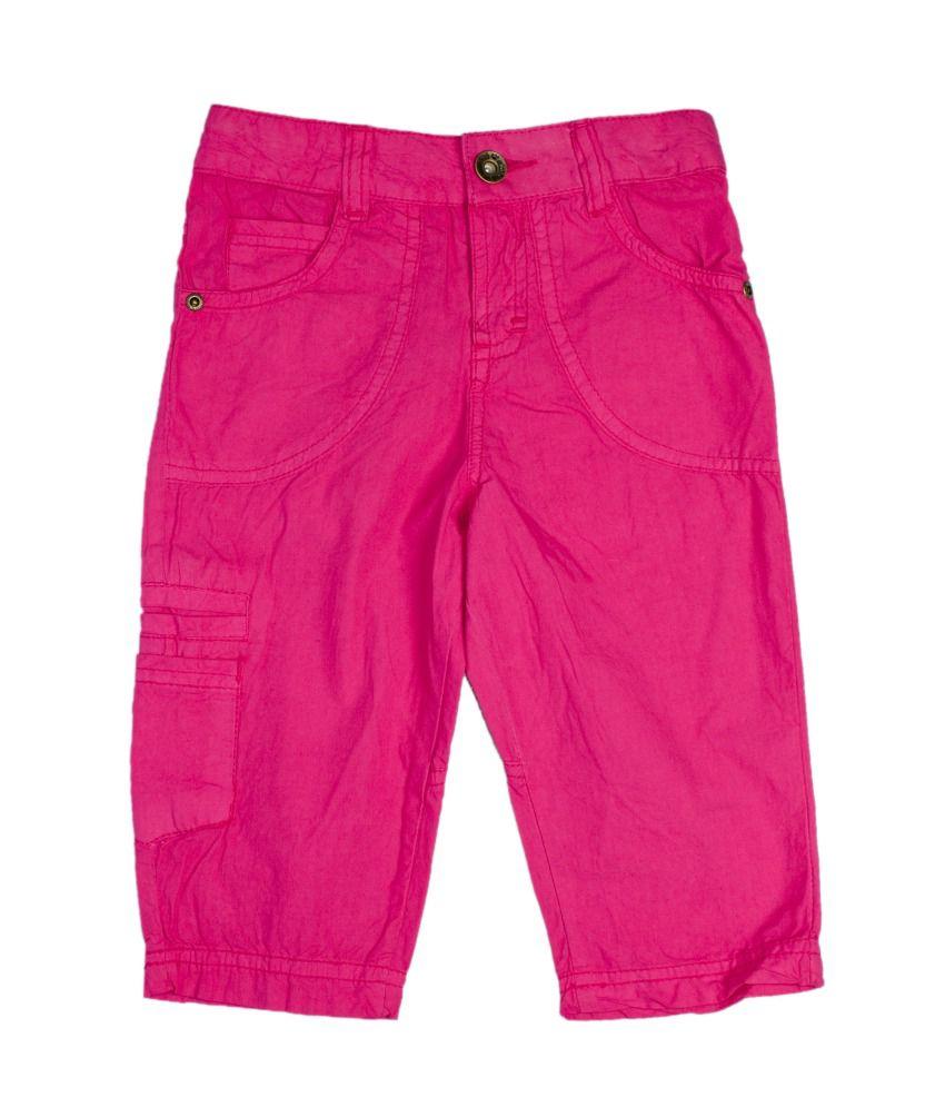 Fs Mini Klub Pink Cotton Capris