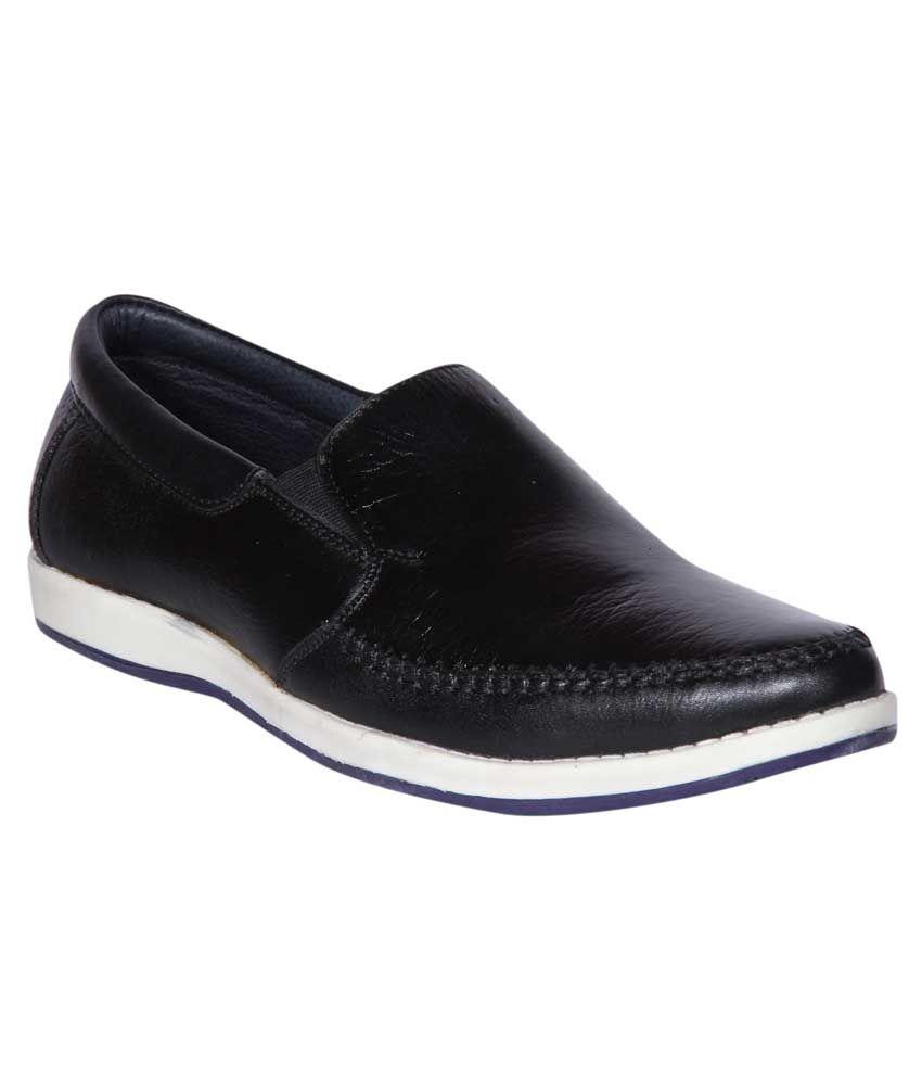 Jackboot Black Loafers