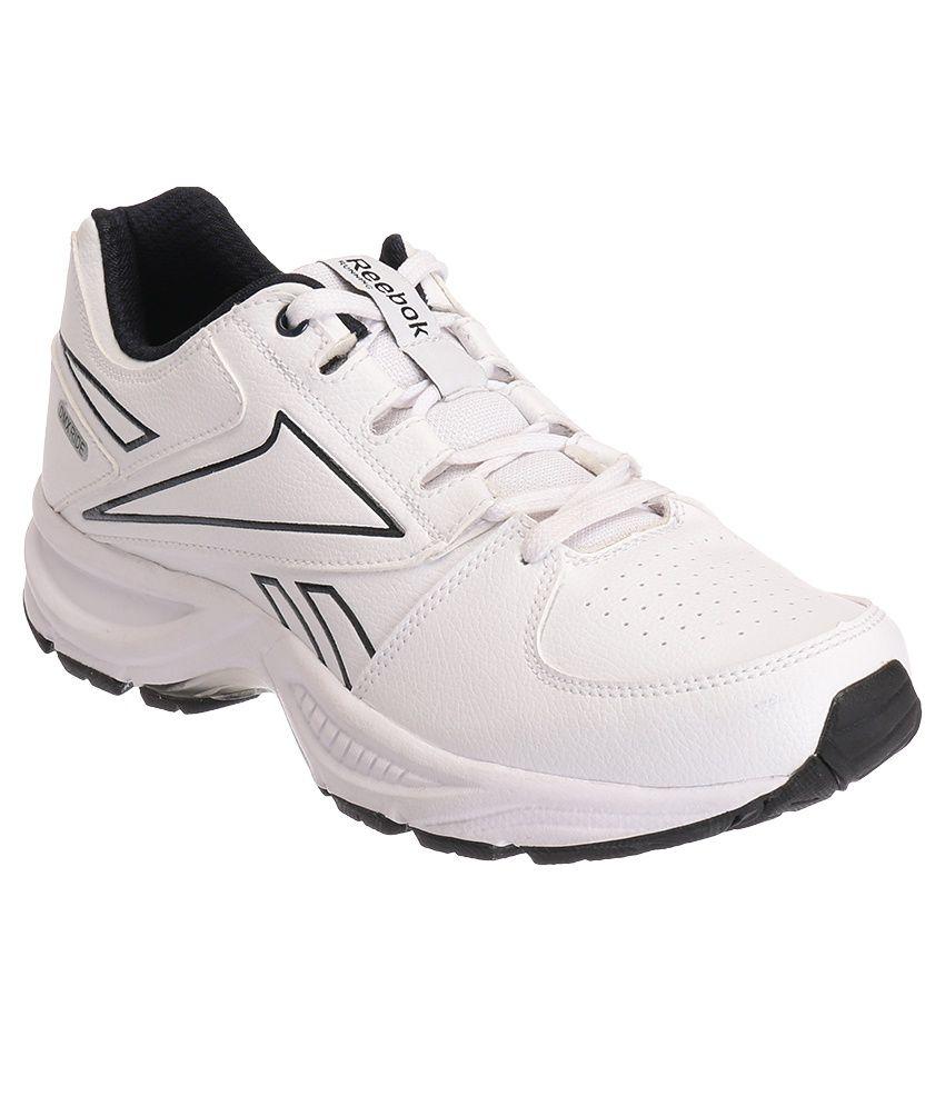 Reebok Comfort Run White Sports Shoes