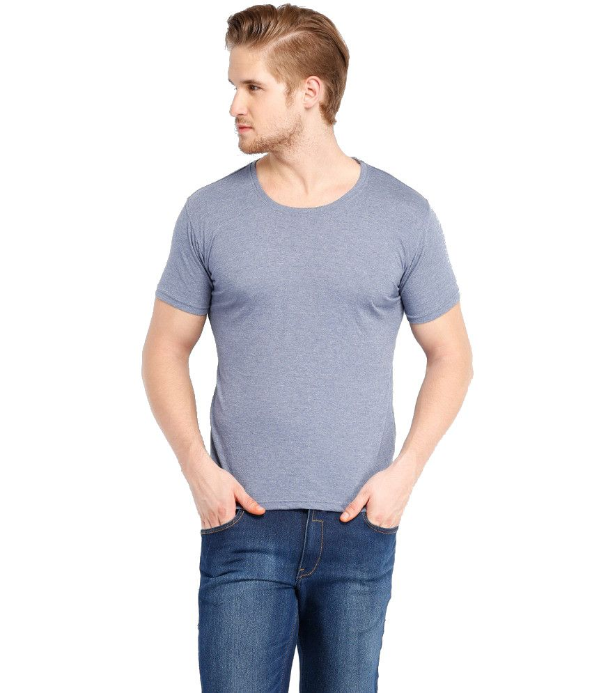 Highlander Gray Polyester T-shirt