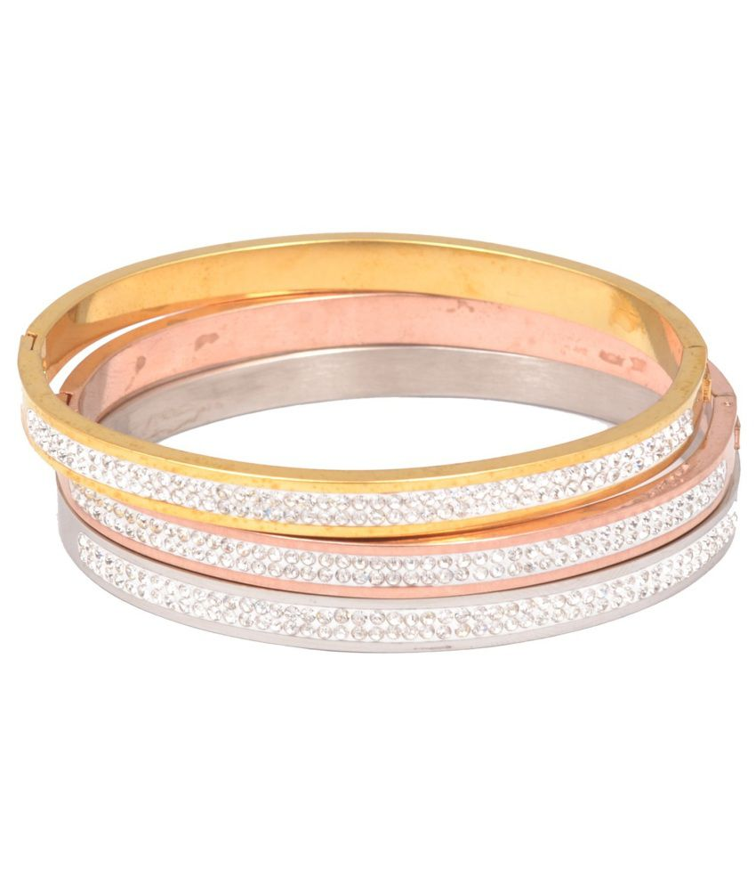 AVN Jewellers Adjustable Brass Bracelet