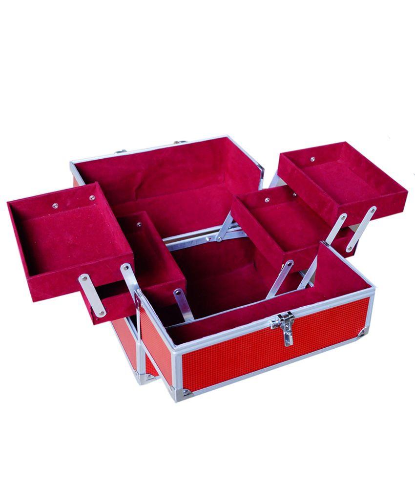 Grind Sapphire Pink Jewellery Vanity Box