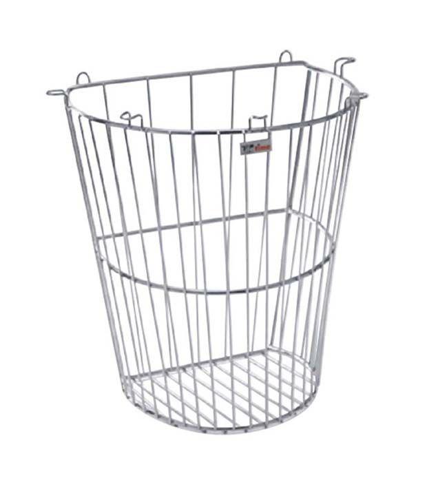 Buy Lifetime Stainless Steel Hanging Basket Dustbin Online