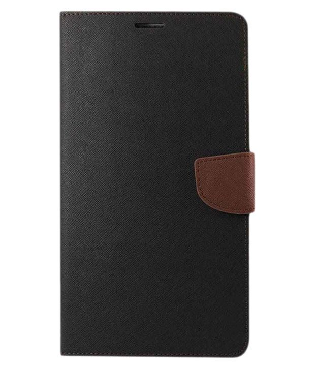 Celphy Flip Cover for Nokia Lumia 535 - Black