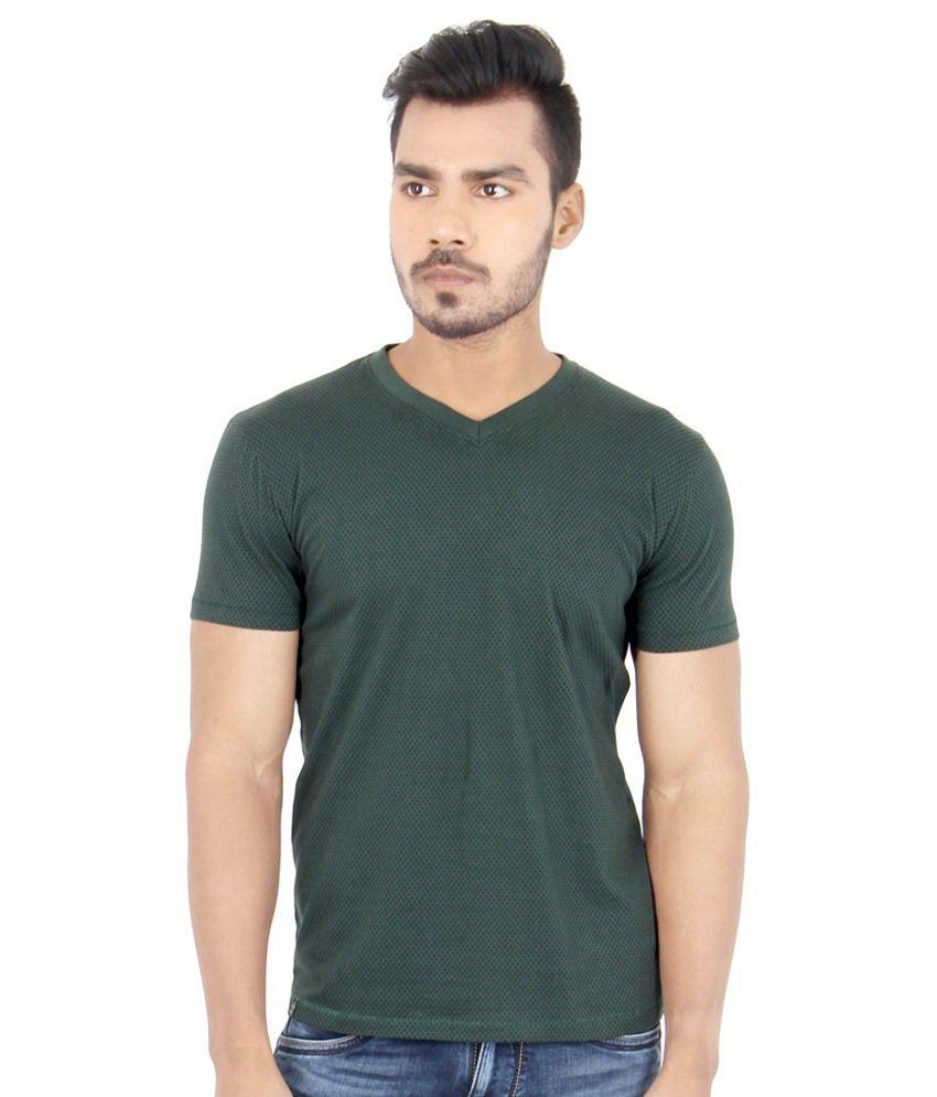 Killer Green Cotton T Shirt