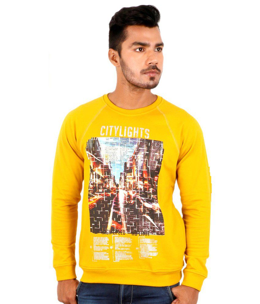 Killer Yellow Cotton T Shirt