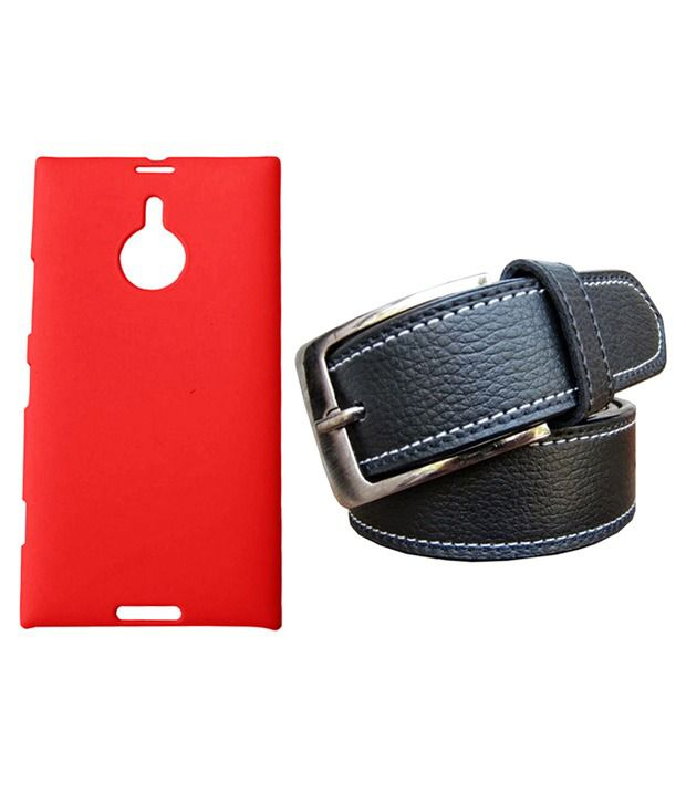 Winsome Deal Black Belt with Back Cover Case for Nokia Lumia 1520