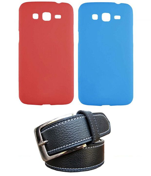 Winsome Deal Black Belt with 2 Back Cover Cases for Samsung Galaxy S3