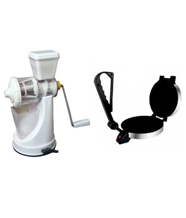Delta Roti Maker Combo with Juicer for Fruits and Vegetables