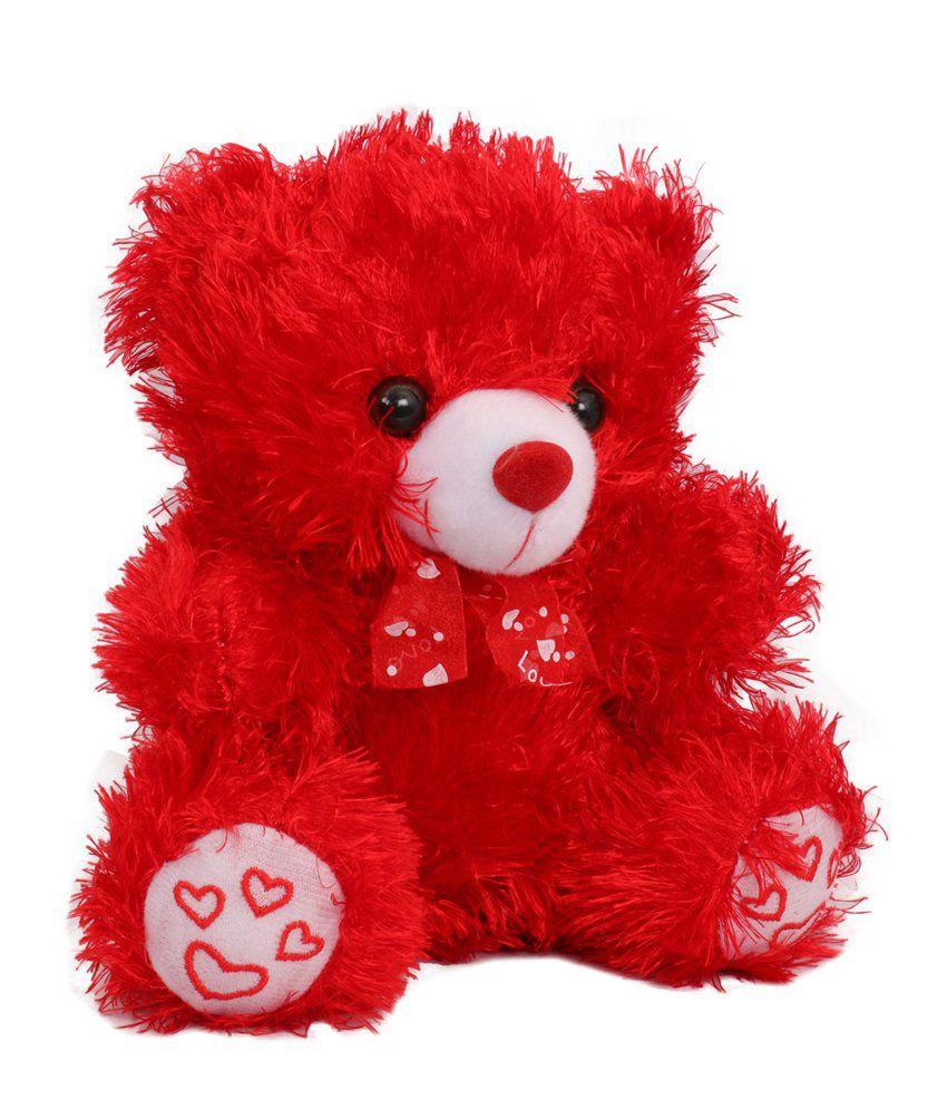 EWI Red Heart Teddy Bear Soft Toy