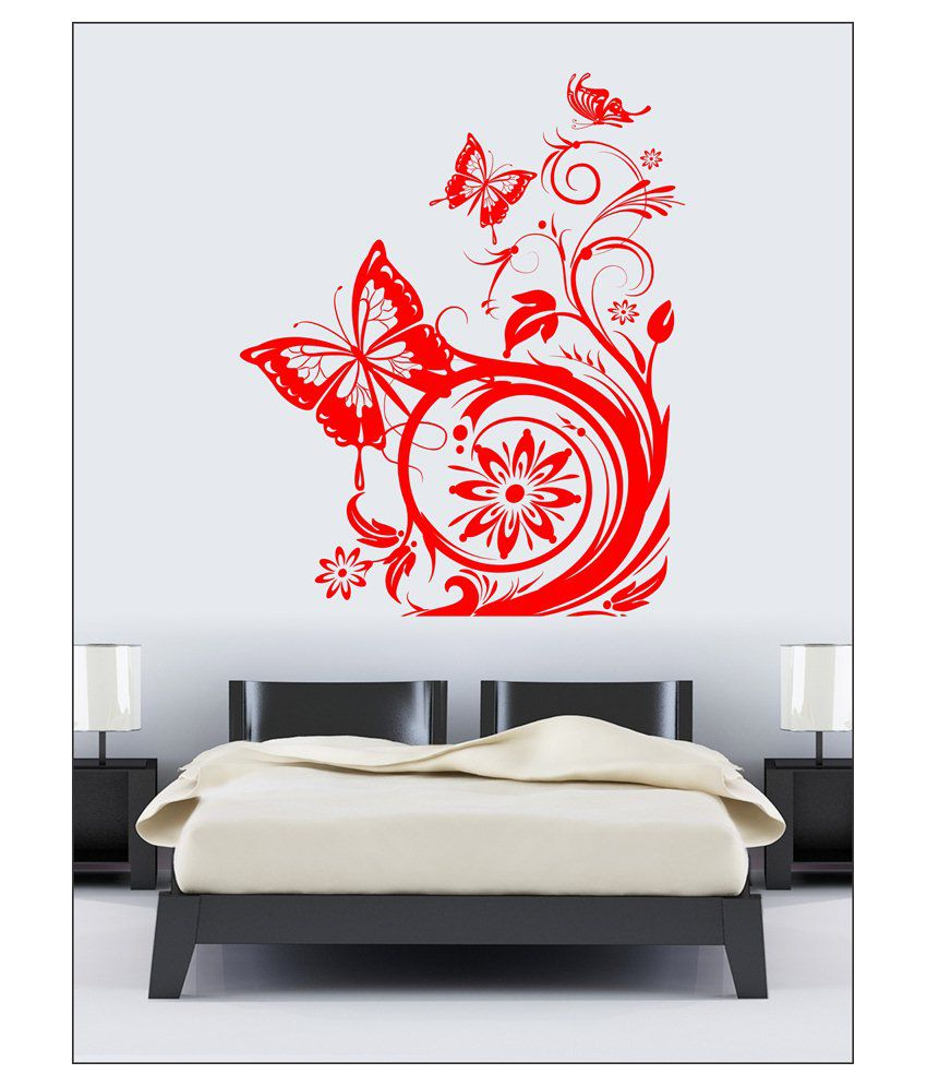 wall1ders red queen fly wall sticker buy wall1ders red