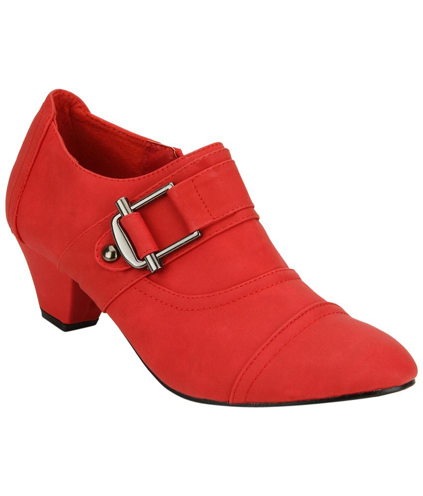 321c69f2f6b Yepme Red Ankle Length Boots for Women Price in India- Buy Yepme Red Ankle  Length Boots for Women Online at Snapdeal