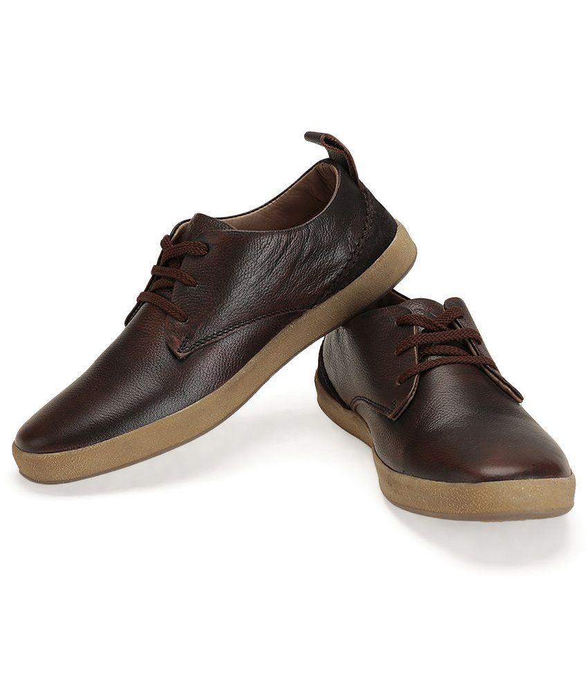 Buckaroo Gibson Brown Casual Shoes