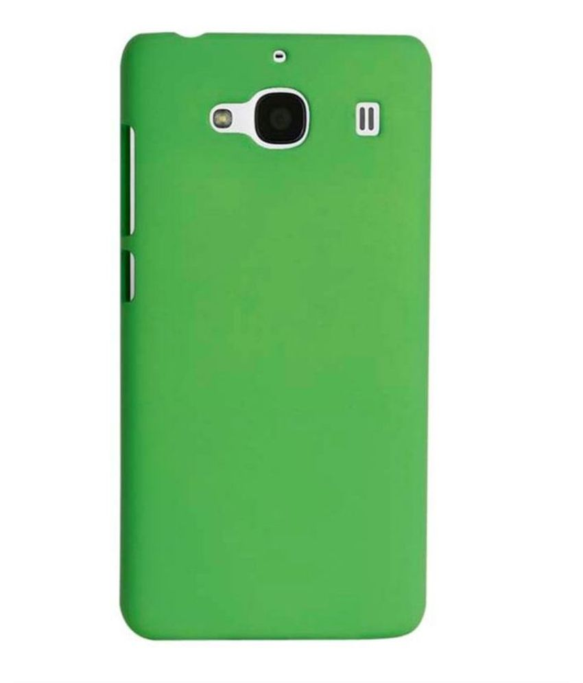 best loved a5c2e c8fed Chevron Back Cover For Mi Redmi 2 Prime - Green