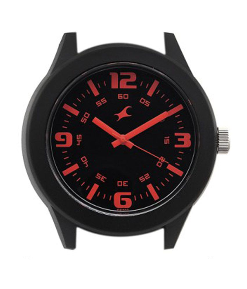 fastrack black dial analog watch 38003pp13 buy