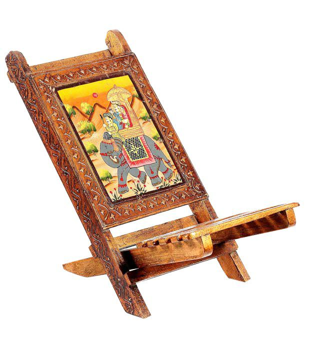 Aapno Rajasthan Solid Wood Hand Painted Folding Chair