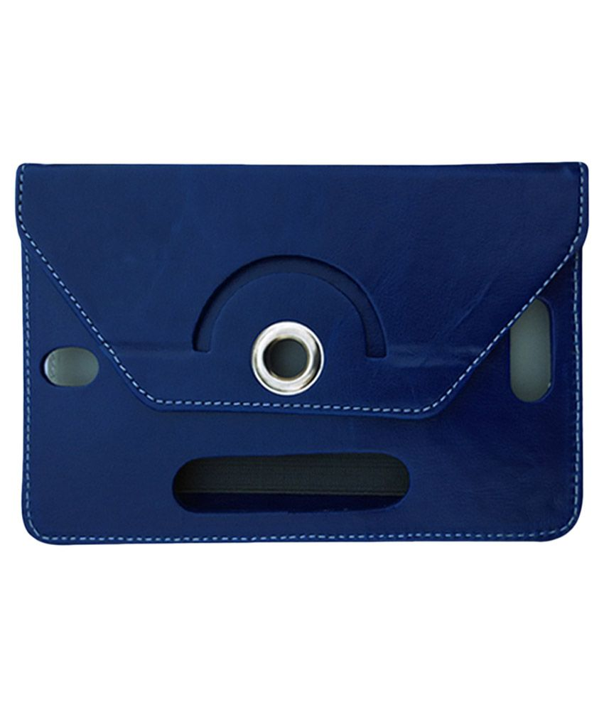 Fastway Flip Stand Cover For Celkon C720 - Blue