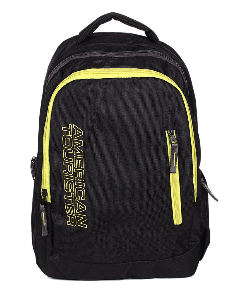4a3b4f325 American Tourister Aller 02 Black Backpack - Buy American Tourister Aller  02 Black Backpack Online at Low Price - Snapdeal
