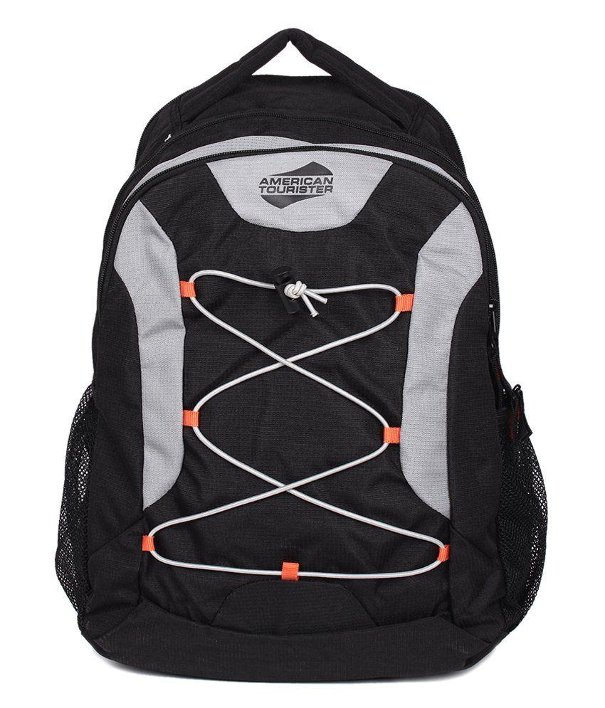 American Tourister Champ Casper Black Backpack